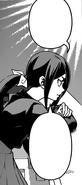 Tsunozaki pondering about Hayama's dish