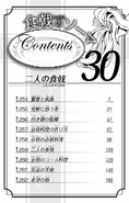Volume 30 Table of Contents