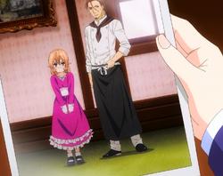 Eine junge Erina mit Joichiro