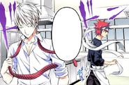 Eishi and Sōma begin their match
