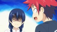 Panicked Megumi