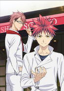 Shokugeki no Soma S2 Stagiaire Arc key visual
