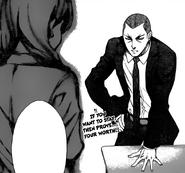 Dōjima announcing the rules