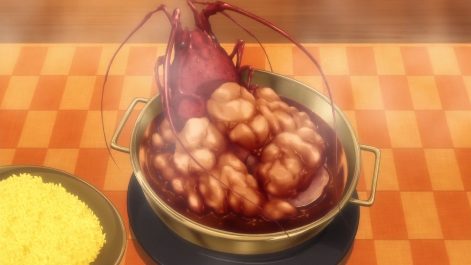 French Curry Lobster Rice with Cognac | Shokugeki no Soma Wiki | FANDOM powered by Wikia