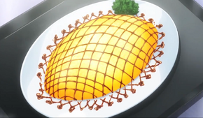 Curry Risotto Omurice(anime)