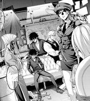 Asahi and his squad