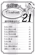 Volume 21 Table of Contents