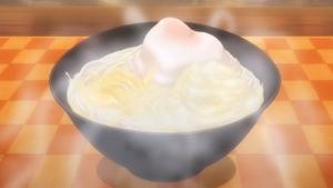 White Potage Curry Udon (anime)
