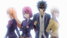 Encuentro tenso entre las primas Nakiri Anime HD