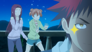 Scared Ryoko & Yuki