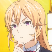 Erina Nakiri mugshot (anime)