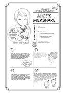 Vol.5 Chapter.31 Alice Milkshake Drink