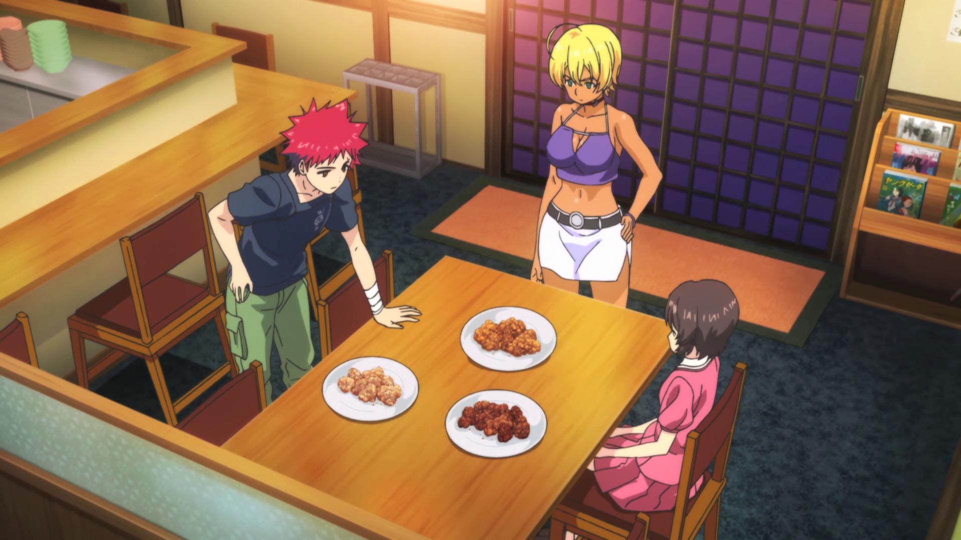 Food Wars Ikumi karaage wars arc | shokugeki no soma wiki | fandom