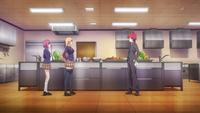 Sōma meets Erina and Hisako