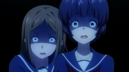 Shocked Aki & Mayumi