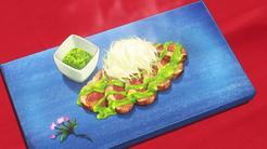 Aigamo a la Plancha con Especias Anime HD