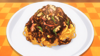 Naporitan Curry Fettuccine (Anime)