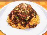 Naporitan Curry Fettuccine