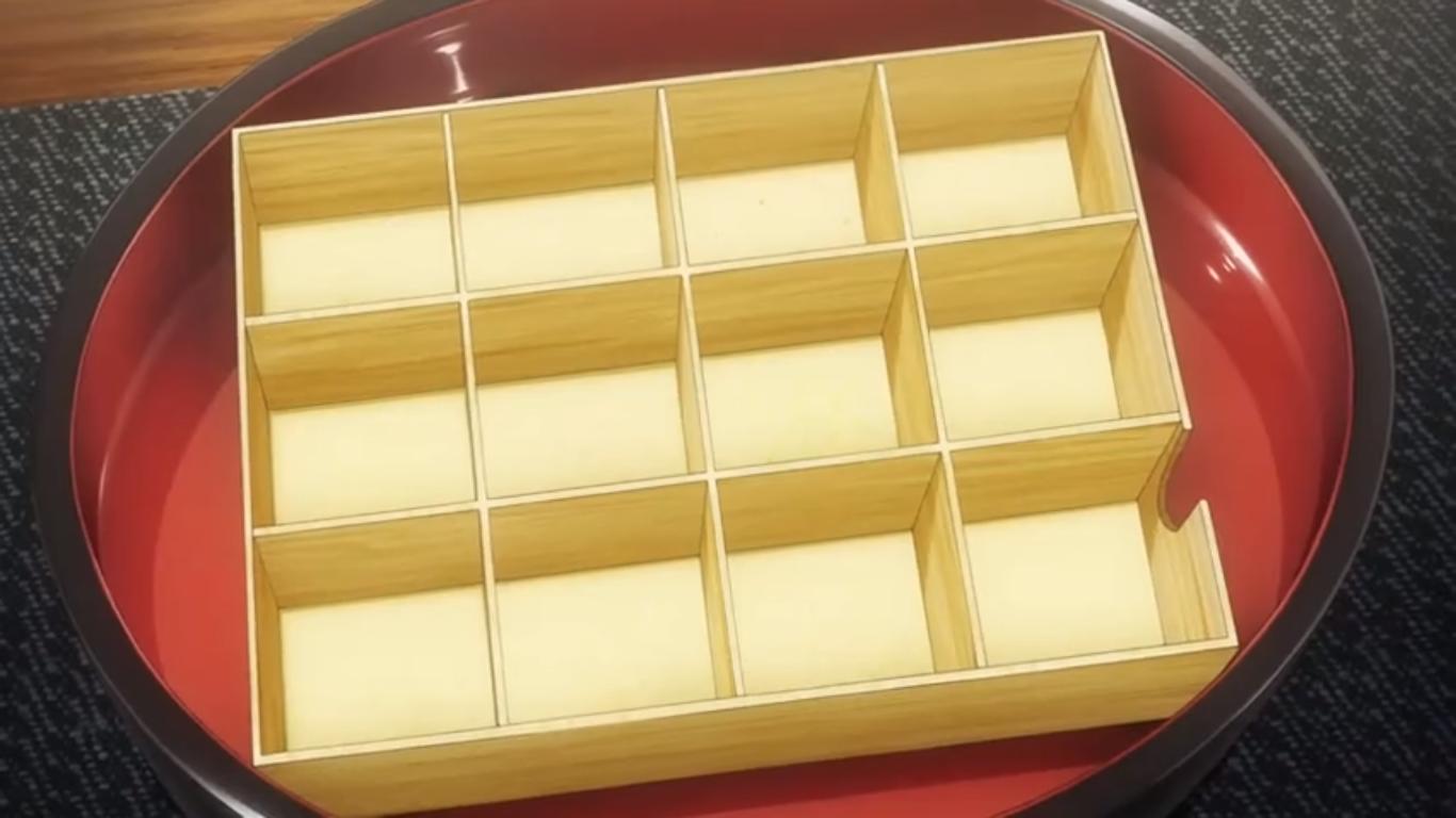 Empty Temari Bento Box