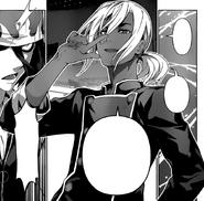 Akira provoking Ryo