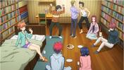 The Polar Star in Marui's room (anime)