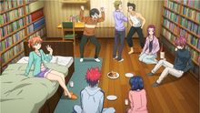The Polar Star in Marui's room (anime)