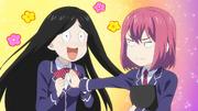 Hisako touches Nao