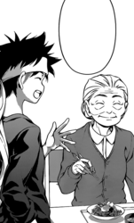Young Soma with Kiyo