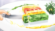 Sliced Rainbow Terrine