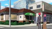 Sōma and Hisako arrive at Western Cuisine Mitamura