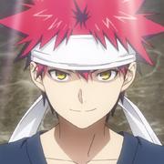 Sōma Yukihira mugshot (anime)