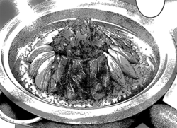 Curry mutton claypot