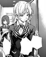 Erina watches Ikumi