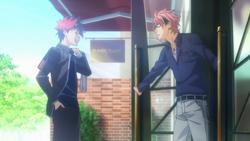 Sōma meets Kojirō for his Stagiaire
