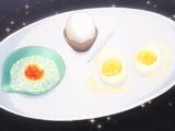 Platillo de Huevo en Tres Formas