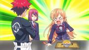 Hisako durante la degustación del platillo Anime HD
