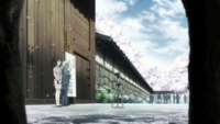 Akira accepted at Tōtsuki academy (anime)