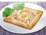 Galette with Egg