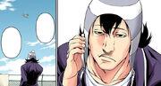 Tōsuke receiving a call