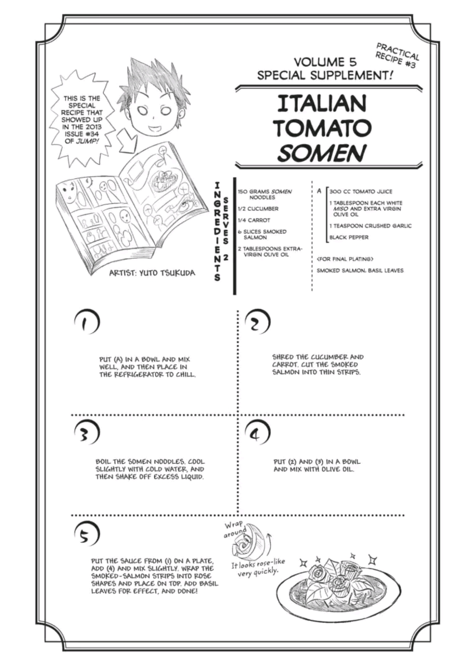 Image - Jump Special Dish | Shokugeki no Soma Wiki | FANDOM
