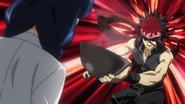 Ryo offers Megumi his ramen