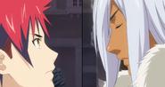 Yukihira vs Hayama