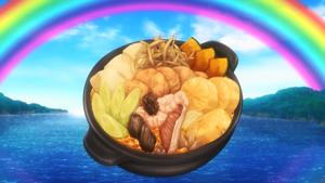 Goosefish Dobu-Jiru Curry (anime)