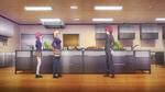 Sōma trifft Erina und Hisako