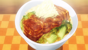Dongpo Pork Curry Don (anime)