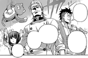 Momo, along with Eizan and Sōmei, entered the arena for the Third Bout