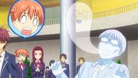 Zenji's spirit leaves his body
