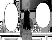 Ryoko presents her dish