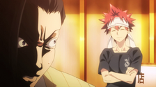Sōma spots Kinu (anime)