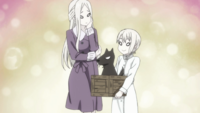 Alice asks her mom to let her adopt Ryō